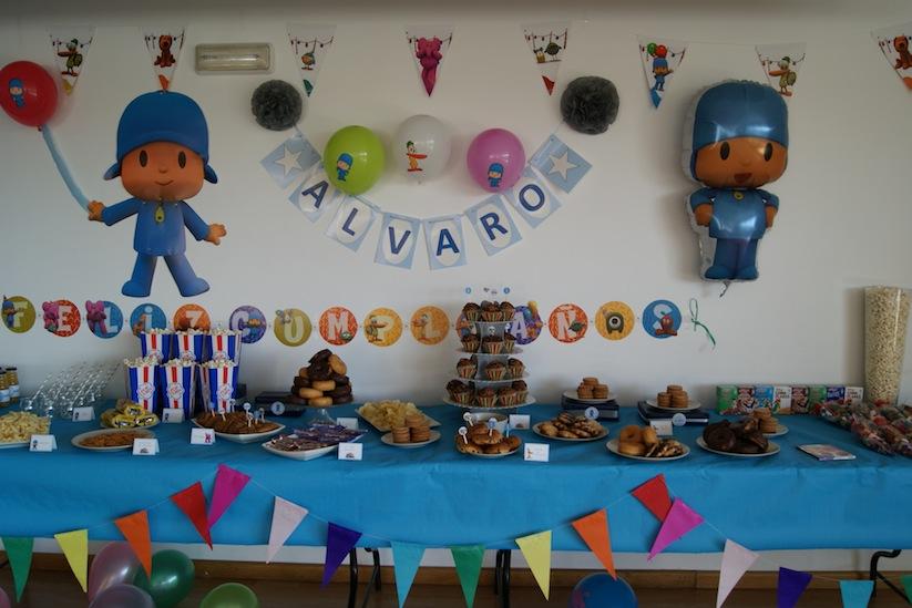 Decoraciónes con globos para fiestas infantiles de Pocoyo - Imagui
