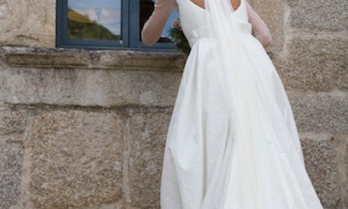 escote espalda novia