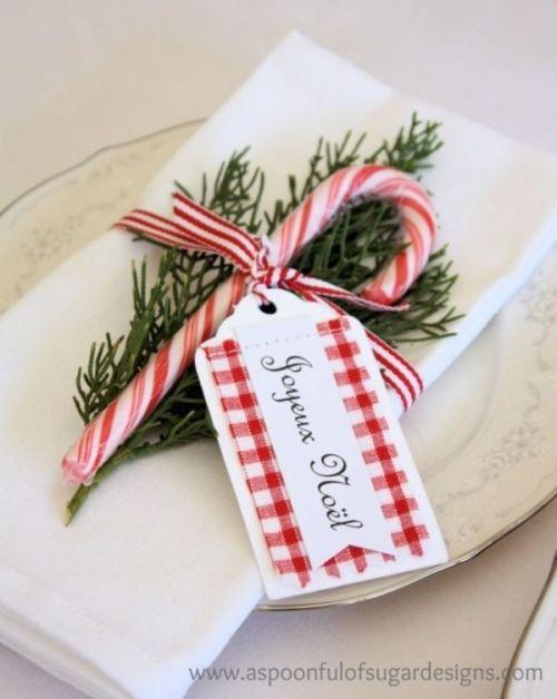detalle servilletero navideño