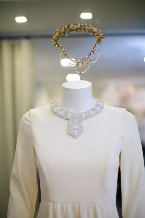 vestido novia david christian