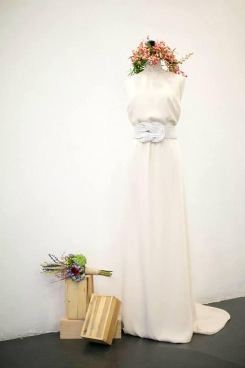 vestido novia david chritian
