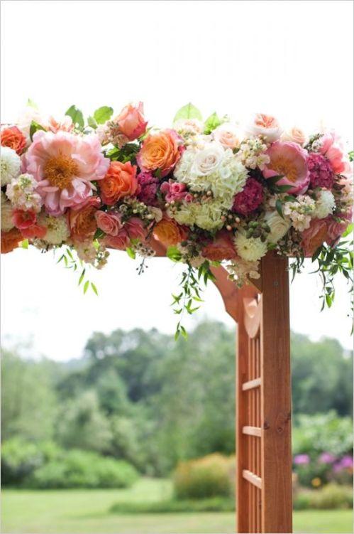 arco de flores boda