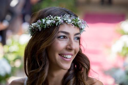 corona flores novia2