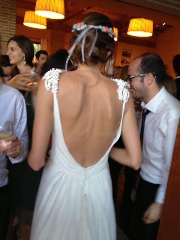 espalda novia Navascues