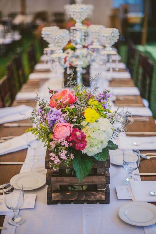 mesa larga boda