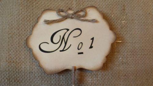 mesero boda DIY