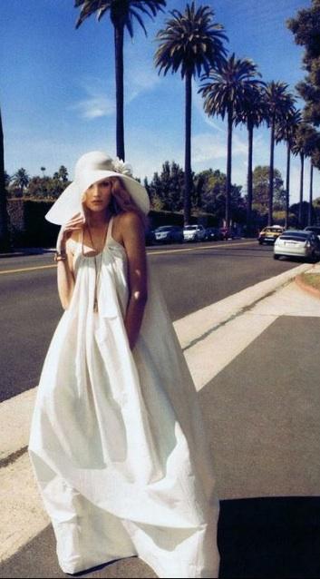 sombrero novia blanca