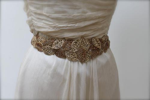 cinturon novia vintage