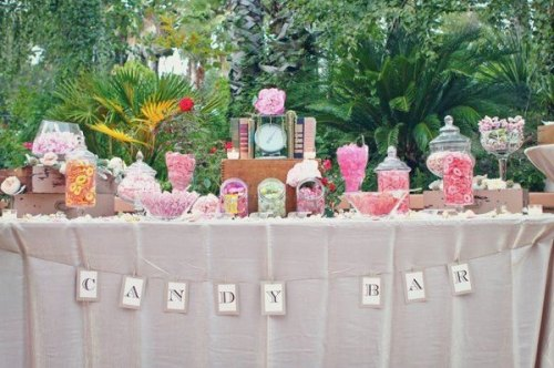 candy bar shabby chic