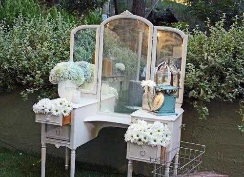Shabby Chic Decoracion De Bodas ~   de anticuario para decorar rincones de la boda o tambi?n como mesas