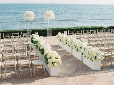 preciosa boda en la playa