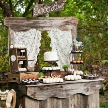 candy bar rustic