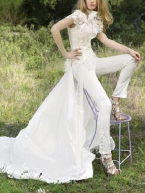 pantalón pitillo novia