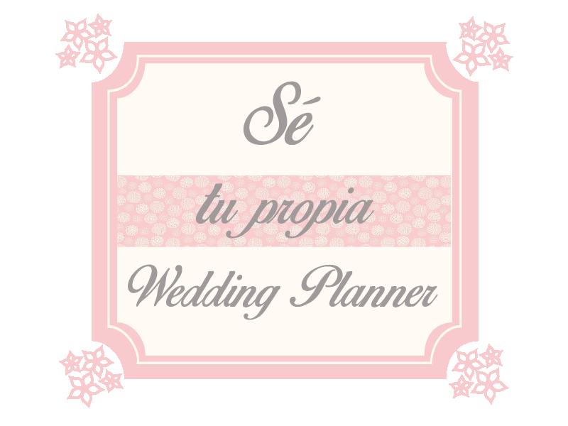 Sé tu propia wedding planes