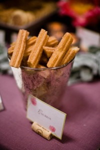 wedding+table+churros