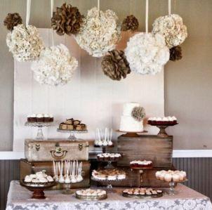 11.decoracion-mesa-boda-postres-rustico-neutral-vintage-flores-baul-madera