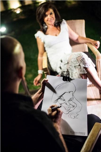 en-una-nube-caricatura